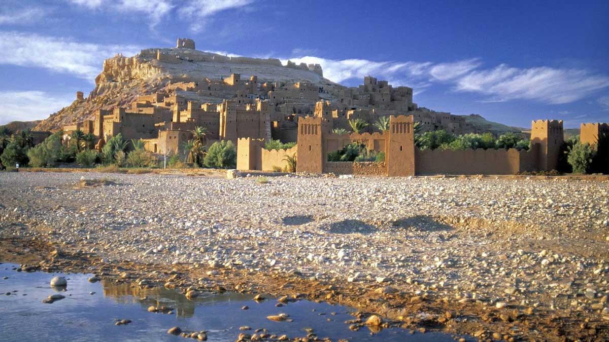 JOUR 1 : Marrakech -Telouet - Kasbah Ait Ben Haddou - Ouarzazate - Gorges du Dadès